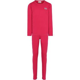 LEGO wear Lwugie 700 Ski Underwear Kids dark pink